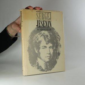 náhled knihy - Sergej Jesenin ve vzpomínkách