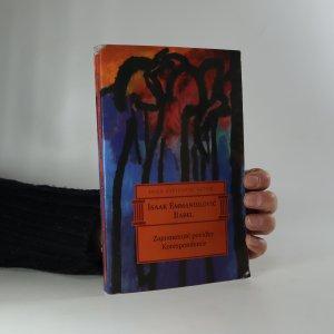 náhled knihy - Zapomenuté povídky, Korespondence