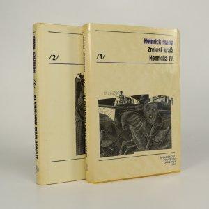 náhled knihy - Zrelosť krála Henricha IV. 1. a 2. díl. (2 svazky, komplet)