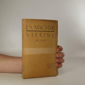 náhled knihy - Vteřiny. Listy z denníku z let 1903-1905