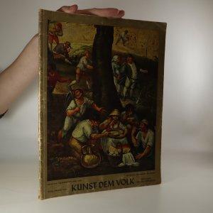 náhled knihy - Kunst dem Volk. Monatsschrift für Bildende und Darstellende Kunst Architektur udn Kunsthandwerk. Rok 1942. Ročník 13.  Číslo 10