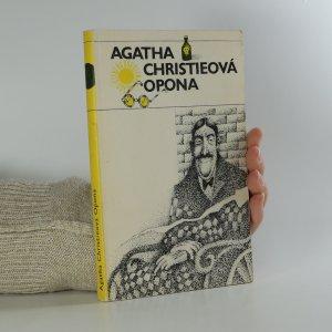 náhled knihy - Opona. Poslední případ Hercula Poirota