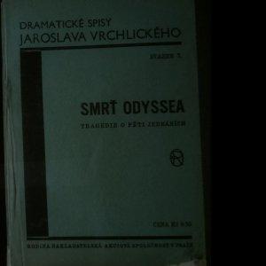 antikvární kniha Smrť Odyssea, neuveden