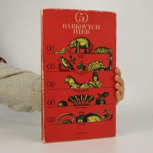 náhled knihy - 5 bábkových hier