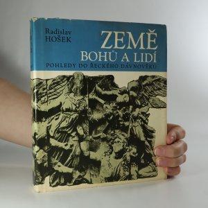náhled knihy - Země bohů a lidí. Pohledy do řeckého dávnověku