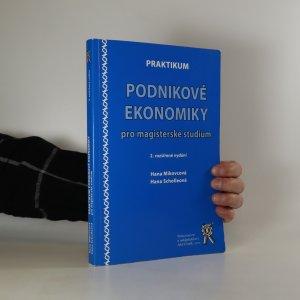 náhled knihy - Praktikum podnikové ekonomiky pro magisterské studium