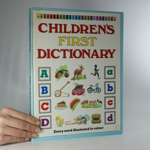 náhled knihy - Children's first dictionary