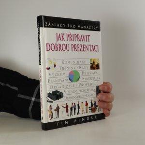 náhled knihy - Jak připravit dobrou prezentaci
