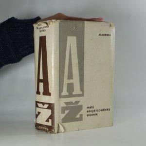 náhled knihy - Malý encyklopedický slovník A - Ž