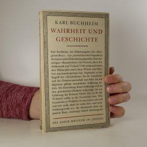 náhled knihy - Wahrheit und Geschichte