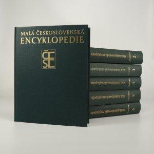 náhled knihy - Malá československá encyklopedie (v 6 svazcích, kompletní)