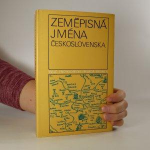 náhled knihy - Zeměpisná jména Československa
