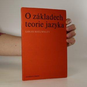 náhled knihy - O základech teorie jazyka