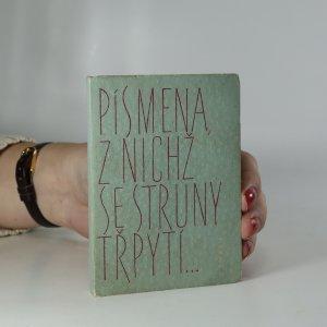 náhled knihy - Písmena, z nichž se struny třpytí