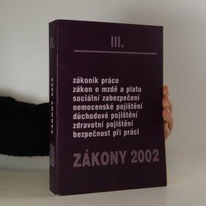 náhled knihy - Zákony 2002. III
