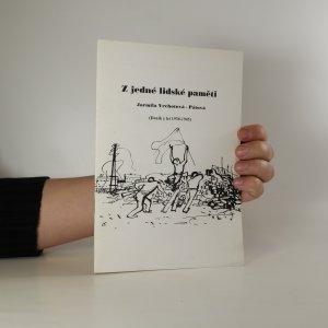 náhled knihy - Z jedné lidské paměti. Deník z let 1938 - 1945. S podpisem autorky