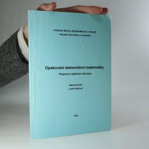 náhled knihy - Opakování elementární matematiky. Příprava k přijímací zkoušce