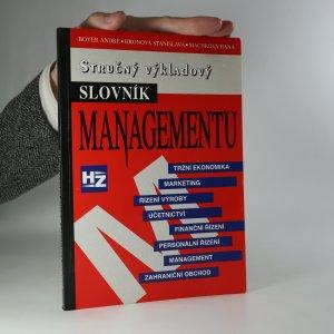 náhled knihy - Stručný výkladový slovník managementu