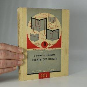 náhled knihy - Elektrické stroje II.