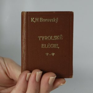 náhled knihy - Tyrolské elegie, epigramy a různé verše