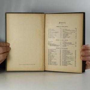 antikvární kniha Schillers Werke in zwölf Bänden. I.-VII. (2 svazky), 1908