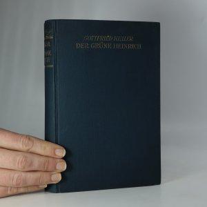 náhled knihy - Der grüne Heinrich (4 díly v jednom svazku. Kompletní)