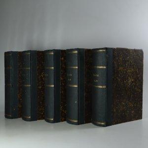 náhled knihy - Goethes Werke. I-II., V.-XII. část (5 svazků, nekompletní, viz poznámka)