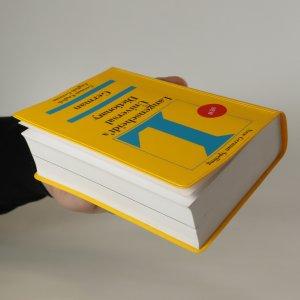 antikvární kniha Langenscheidt's universal dictionary. German, neuveden