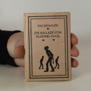 náhled knihy - Die Ballade von Reading Gaol