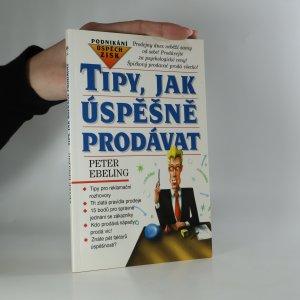 náhled knihy - Tipy, jak úspěšně prodávat