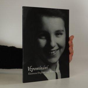 náhled knihy - Vzpomínání (podpis autorky)