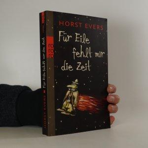 náhled knihy - Für Eile fehlt mir die Zeit