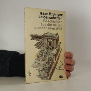 náhled knihy - Leidenschaften. Geschichten aus der neuen und der alten Welt