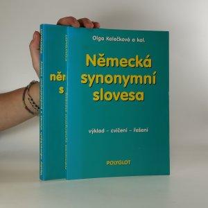 náhled knihy - Vazby německých sloves s podstatnými jmény, Německá synonymní slovesa (2 svazky)