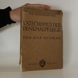 náhled knihy - Katechismus der Denkmalpflege. Katechismus památkové péče