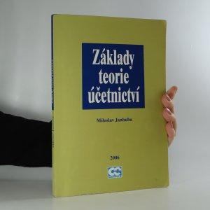 náhled knihy - Základy teorie účetnictví