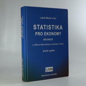 náhled knihy - Statistika pro ekonomy. Aplikace