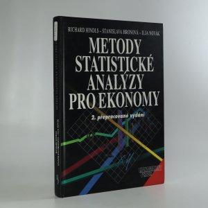 náhled knihy - Metody statistické analýzy pro ekonomy