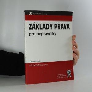 náhled knihy - Základy práva pro neprávníky