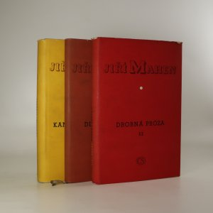 náhled knihy - Dílo Jiřího Mahena. Díly I, II a IV (ve třech svazcích)