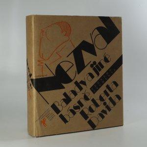 náhled knihy - Balady a jiné básně věčného studenta Roberta Davida