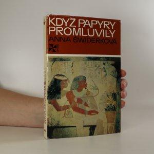 náhled knihy - Když papyry promluvily