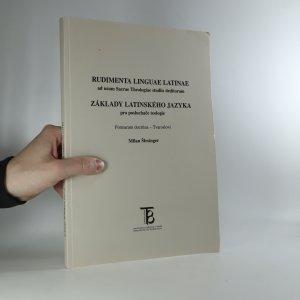 náhled knihy - Základy latinského jazyka pro posluchače teologie