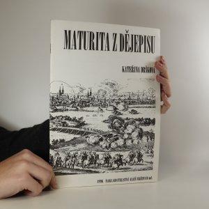 náhled knihy - Maturita z dějepisu