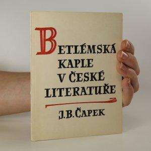 náhled knihy - Betlémská kaple v české literatuře