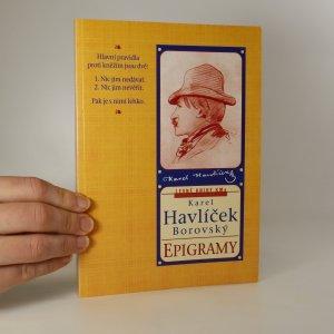 náhled knihy - Epigramy