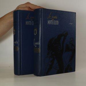 náhled knihy - Le comte de Monte-Cristo. (2 díly ve 2 svazcích, komplet)