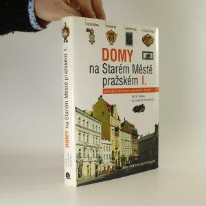 náhled knihy - Domy na Starém Městě pražském I.