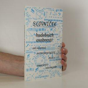 náhled knihy - Slovníček hudebních osobností