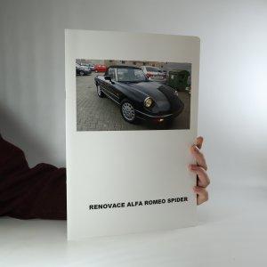 náhled knihy - Renovace Alfa Romeo Spider (bez tiráže)